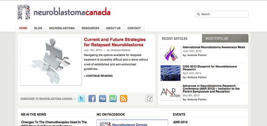 Neuroblastoma Canada