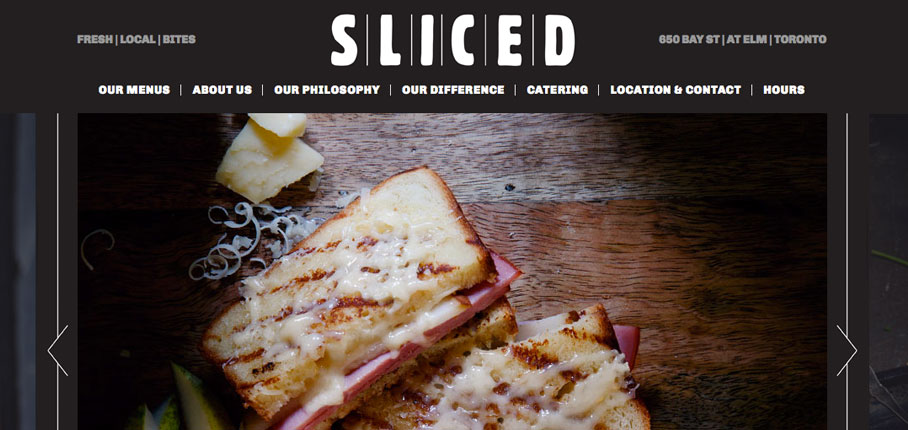 Sliced Gourmet